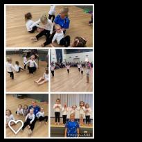 template physie - preschool dance